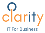 Clarity – IT For Business Logo